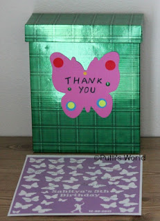 DIY Butterfly Guest Sign In