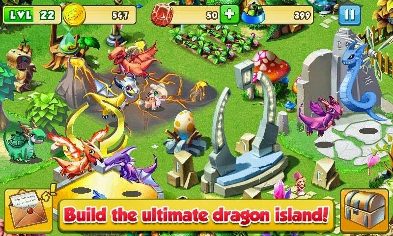 download game dragon mania mod apk versi terbaru