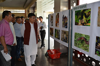 Inaugurated Photo exhibition by Environment & Forest Minister