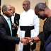 MPNAIJA GIST:Pictures of thanksgiving for President Buhari return in Aso Villa Chapel