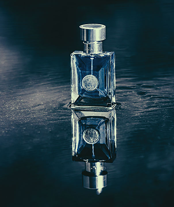 15+ Pics That Show Photography Is The Biggest Lie Ever - Perfume On A Glassy Surface