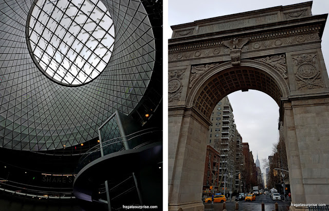 Nova York - Fulton Center e Washington Square Park