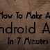 How To Make Android Apps Without Coding - 5 Minute Trick