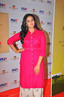 Sree Mukhi in Pink Kurti looks beautiful at Meet and Greet Session at Max Store (11).JPG