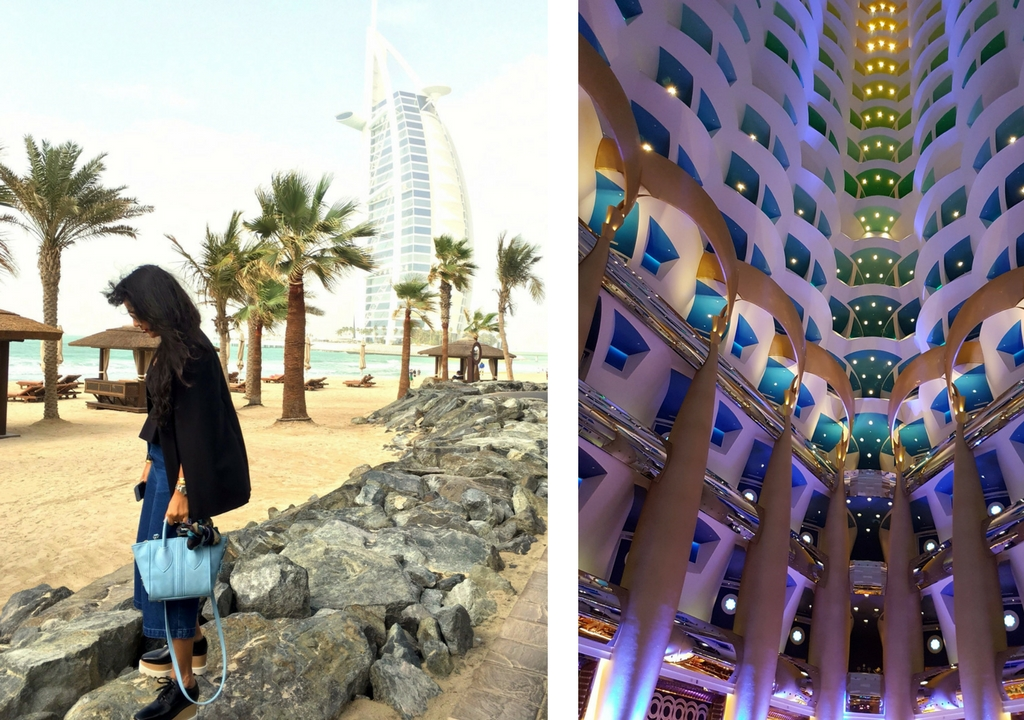 Burj Al Arab Dubai - Best Luxury Hotels in Dubai - Vegan Travel Diaries