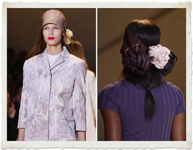 foulard in testa Rochas
