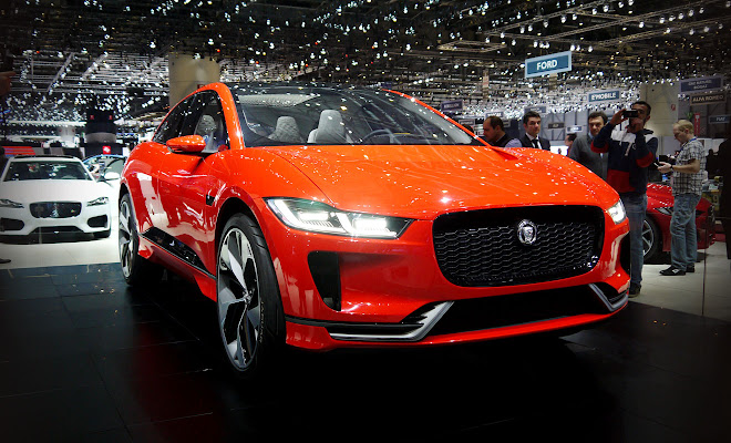 Jaguar I-Pace electric car