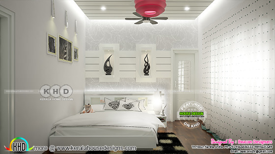 Light bedroom design
