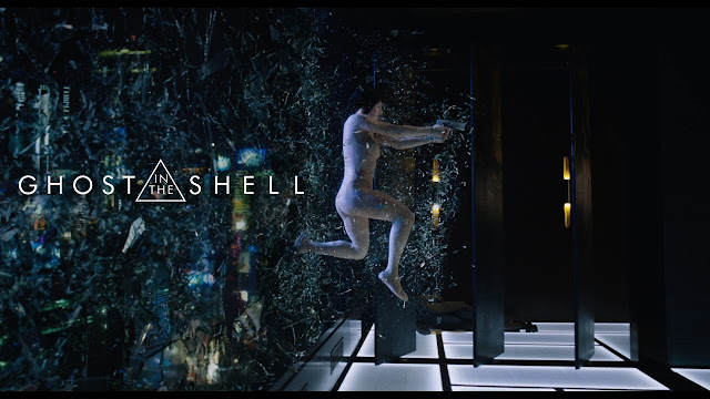 Scarlett Johansson in Ghost in the Shell movie