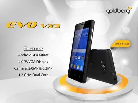 Goldberg EVO VX3 Smartphone