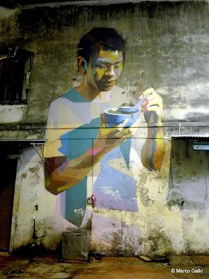 LAS PAREDES HABLAN. STREET ART GEORGE TOWN, PENANG. MALASIA