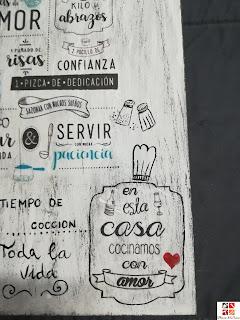 cartel con mensaje