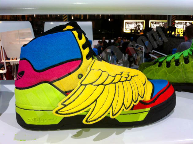 separation shoes a01ed d5ab0 More Crazy Kicks for Adidas by Jeremy Scott for 2012 Spring, Summer, Fall    Winter.