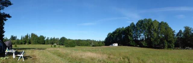 Naturcamping Rundreise Schweden Urlaub mit Hund Panorama