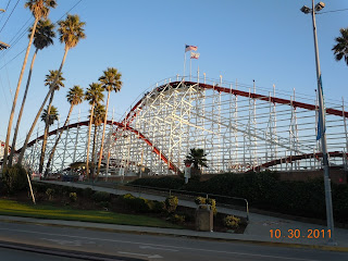 roller coaster at santa cruz california