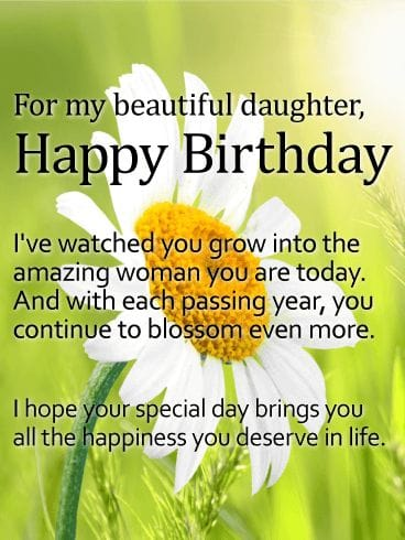 Happy birthday daughter wishes quotes messages and images cute birthday wishes quotes messages and images for beautiful daughter m4hsunfo