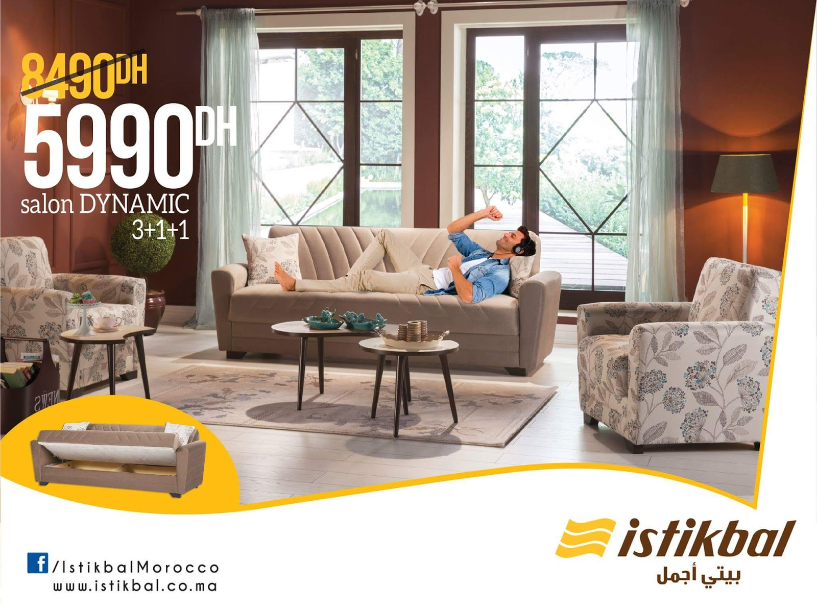 Promotion istikbal maroc printemps 2017 lecatalogue for Chambre a coucher istikbal