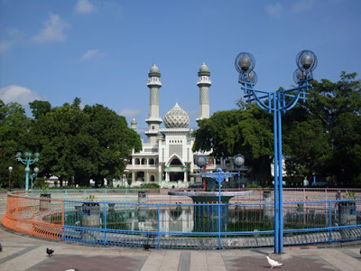 masjid agung jami malang dekat alun alun malang