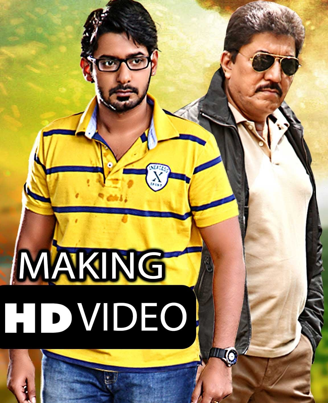 Action Man Arjun (Arjuna) 2018 Hindi Dubbed 720p HDTVRip x264 900MB