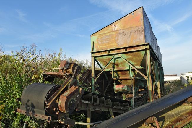 Abandoned Asphalt Plant in LaSalle Illinois