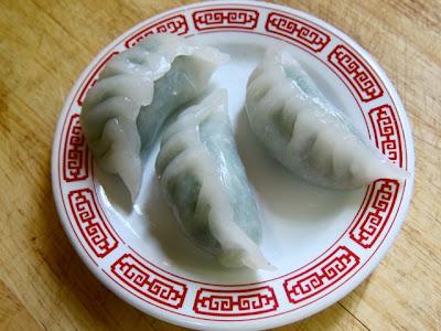 Chive and Prawn Dumpling