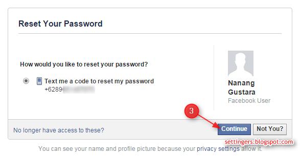 cara membuka facebook yang lupa password