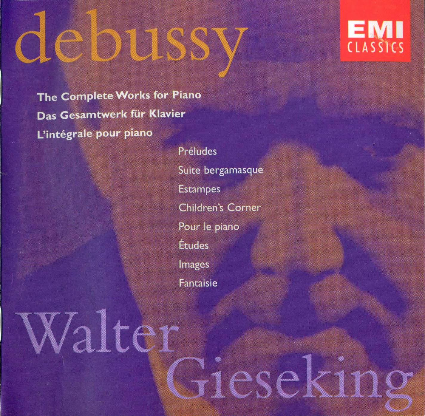 Etudes Piano by Debussy Claude