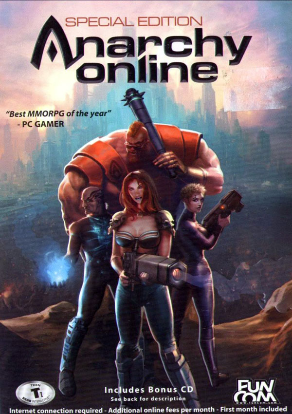Anarchy Online Download Cover Free Game