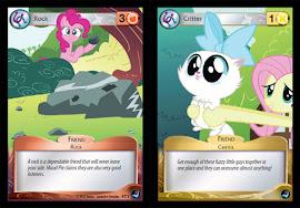 My Little Pony Orange Rock, Yellow Critter Token High Magic CCG Card