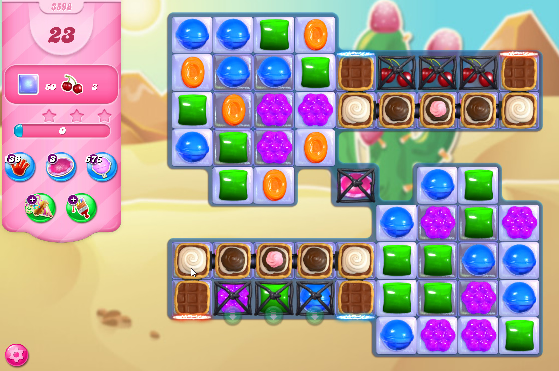 Candy Crush Saga level 3598