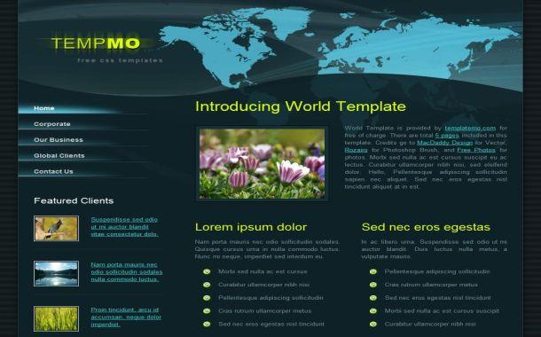 World News Grunge Free Html Css Website Template