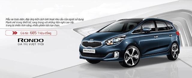 kia rondo gia xe -  - Bảng giá xe KIA 2016 cập nhật mới nhất tại Việt Nam