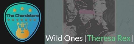 WILD ONES Guitar Chords  2018 | [Theresa Rex]