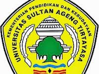 Lowongan Dosen Biomedik Universitas Ageng Tirtayasa Banten 2017