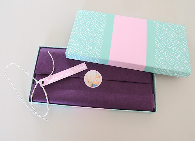 Handmade Jewellery Gift Box by Bobbin and Fred