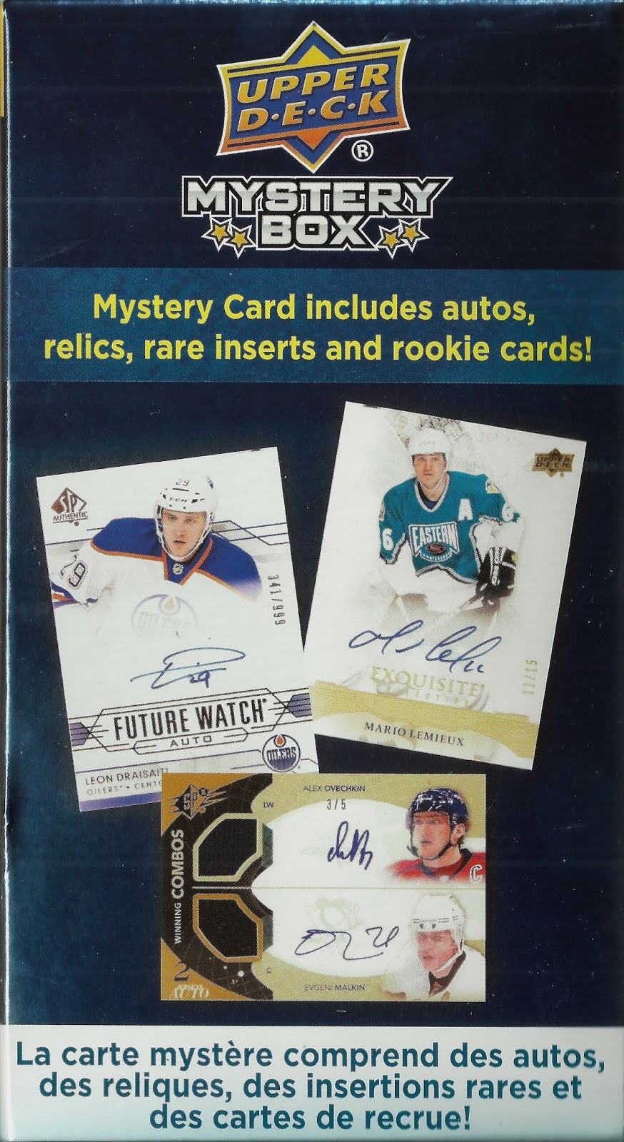Hells Valuable Collectibles 2018 19 Upper Deck Hockey Mystery Box