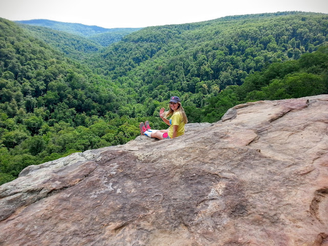 Kate on Whitaker's Point | EverWanderingWanderers