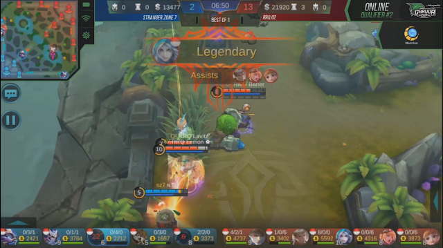 Garuda Cup: MOBILE LEGENDS Qualifier Online 2 #Day4 RRQ.O2 VS Stranger Zone 7