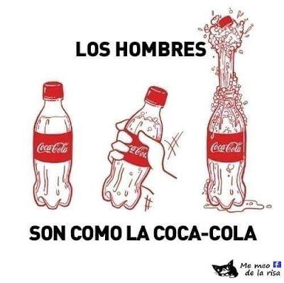 Los hombres son como la Coca-Cola
