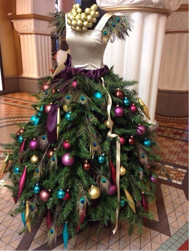 Dress Form Christmas Tree.Dress Form Mannequin Christmas Trees South Shore