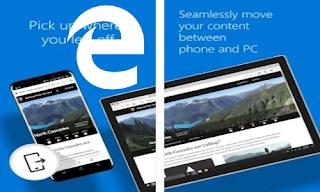 Aplikasi browser Microsoft Edge untuk android