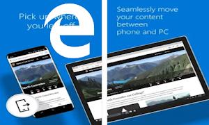 Aplikasi Browser Microsoft Edge Kini Sudah Tersedia Di Android Lho !!!
