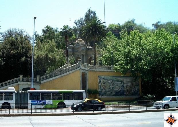 Santiago de Chile, Cerro Santa Lucia