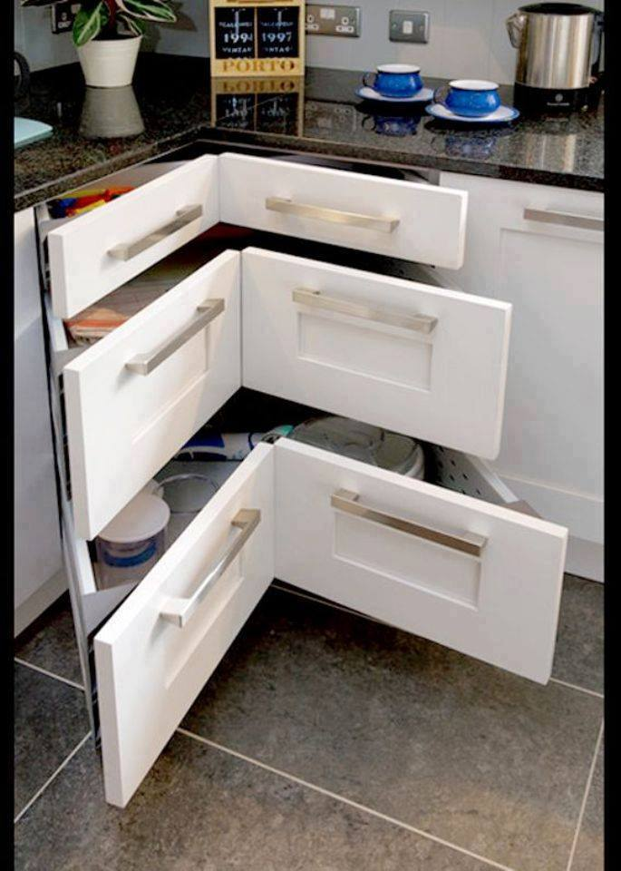 Kitchen Cabinet Remodel Ideas: Clever Kitchen Cabinet Storage Ideas