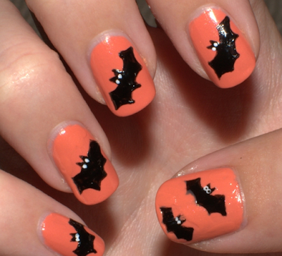 Awesome Nail Art Designs for Halloween by Nile Corp