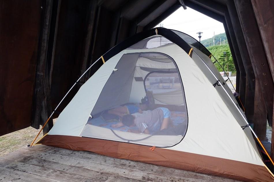 磯崎海水浴場露營區