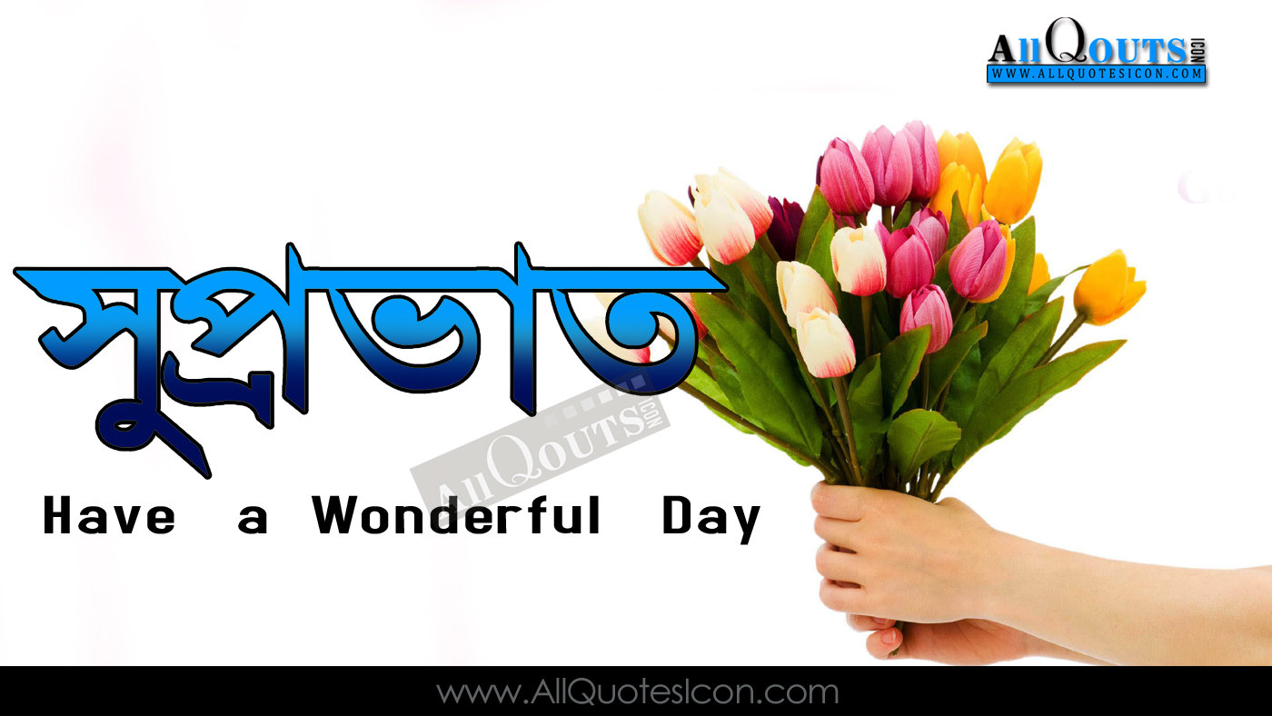 Good Morning Quotes Greetings In Bengali Hd Wallpapers Best Good