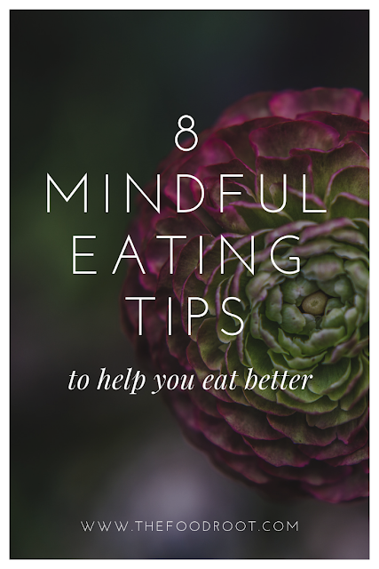 Mindful eating is the practice of being aware of all your senses in the present moment. It helps us to develop a positive and a truly healthy relationship with the food.