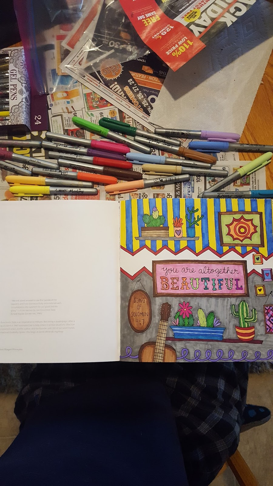 New colour me beautiful book 2016 - There Are 45 Individual Illustrations To Color And Even More Is A Spotify Playlist Called Everything Beautiful Which You Can Play While You Color Or Even