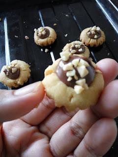 Nutella Pod  Cookies Sukatan Cawan